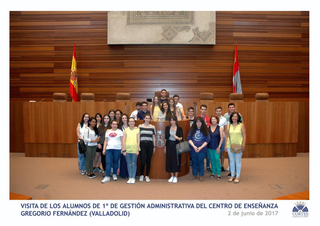 Visita de Gestión Adminstrativa del Centro de Enseñanza Gregorio Fernández