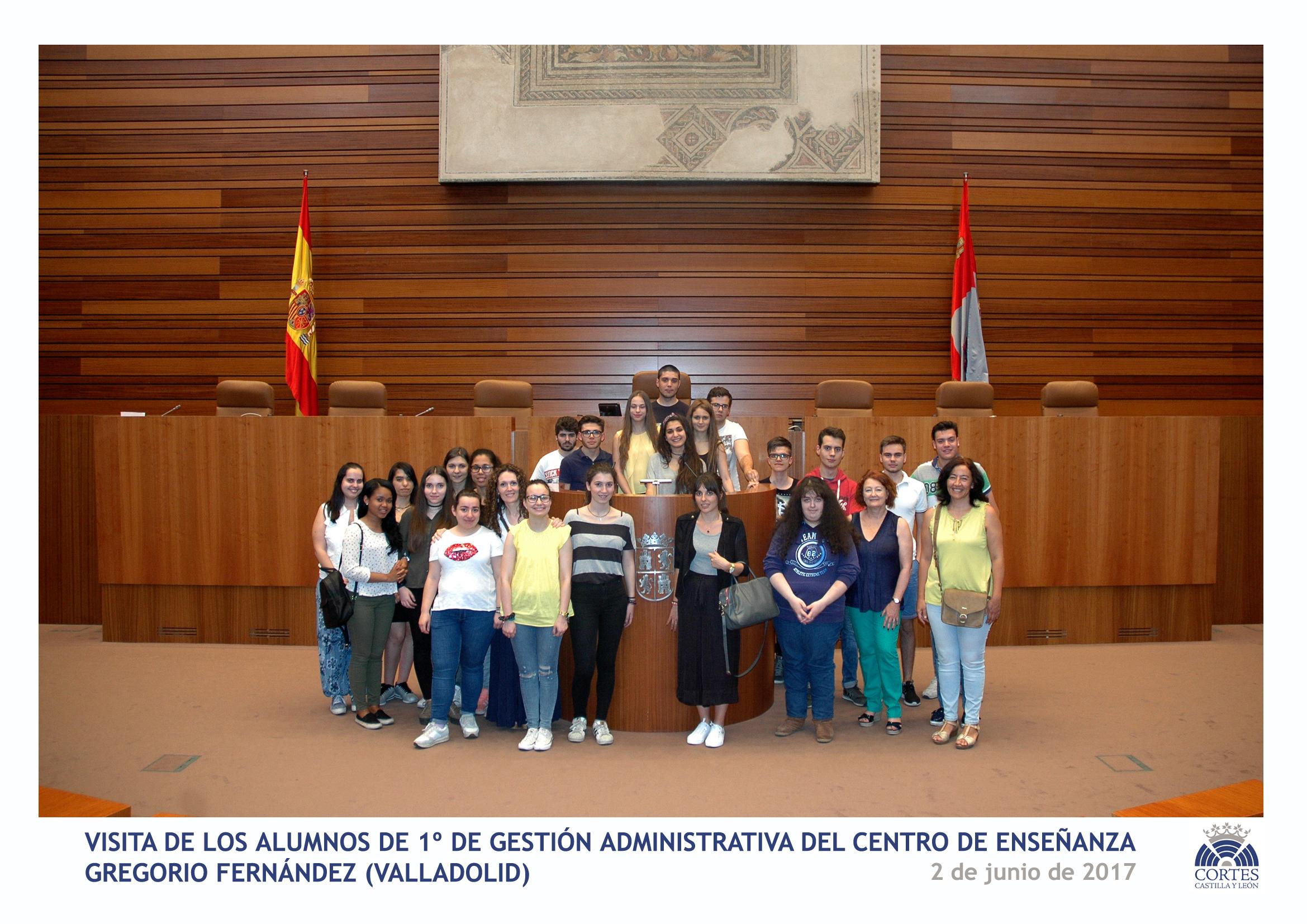 Visita Cortes de Castilla y León
