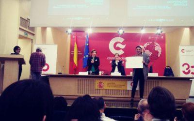 """Recogemos el Premio Nacional de Educación para el Desarrollo """"Vicente Ferrer"""" 2018"""
